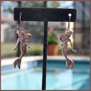 Jewelry - Gorgeous Vintage Inspired Mermaid Earrings